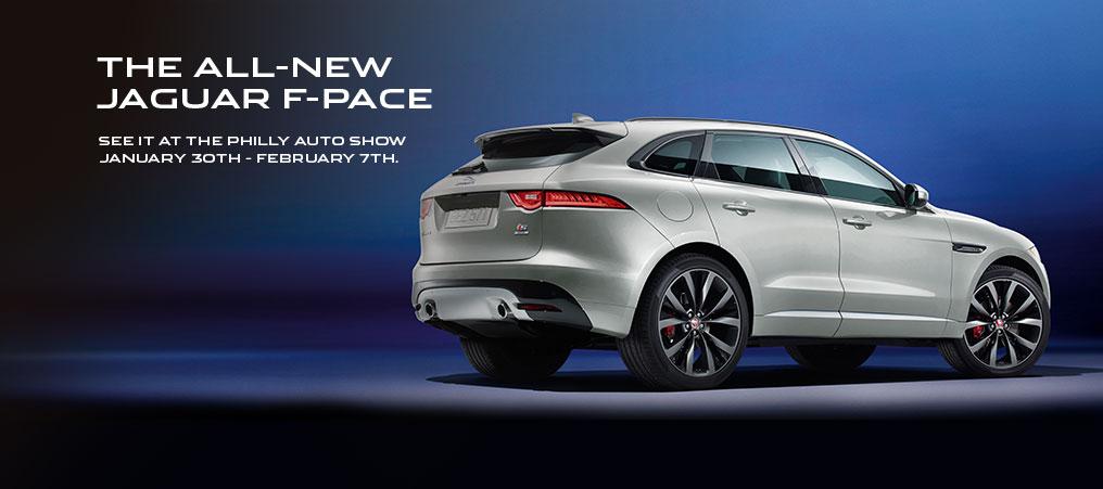 Reserve Your Jaguar F-PACE